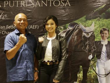 Atlet berkuda Indonesia, Ivana Putri Santosa