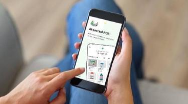 Aplikasi kasir point of sales (POS) memudahkan transaksi pertanian. (Ist)