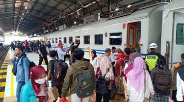 Stasiun Besar Purwokerto, Banyumas, Jawa Tengah. (Foto: Liputan6.com/Muhamad Ridlo)
