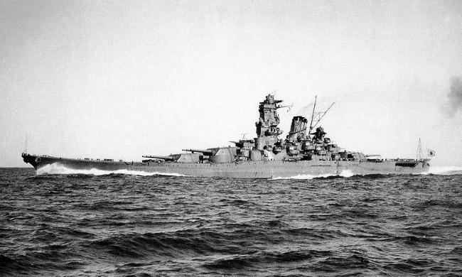 Kapal perang Yamato. (Sumber Wikimedia/ranah publik)
