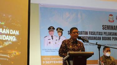 Kepala Balitbangda Kota Makassar, Andi Bukti Djufrie (Liputan6.com/Fauzan)