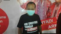 Calon Wakil Wali Kota Surabaya Armuji menemui perkumpulan perias se-Surabaya.(Foto: Dok Istimewa)