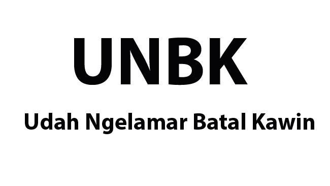 Meme Singkatan UNBK 2018