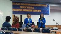 Mahasiswa President University meriah prestasi runner up di ajang LKTM Tingkat Nasional Bidang Kemaritiman 2017.