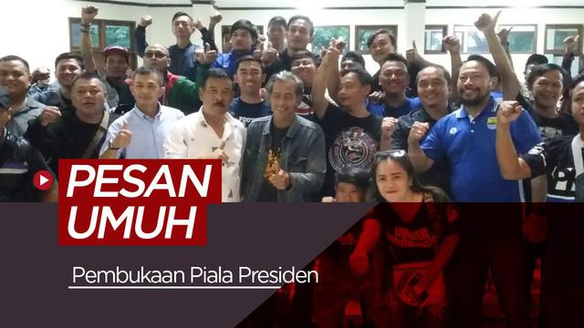 Berita video tentang pesan dari manajer Persib Bandung, Umuh Muchtar untuk para bobotoh jelang bergulirnya turnamen Piala Presiden 2019.