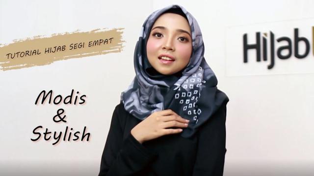 Tutorial Hijab Super Praktis Yang Bikin Tampilan Stylish Ramadan Liputan6 Com