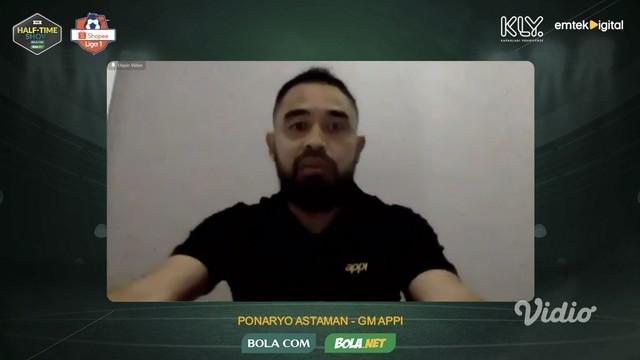 Berita video General Manager APPI (Asosiasi Pesepak Bola Profesional Indonesia), Ponaryo Astaman, mengungkapkan suara pemain terhadap kelanjutan Shopee Liga 1 2020.