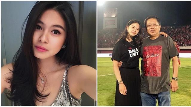 Potret Cantik Putri Pemilik Bali United Ini Bikin Terpesona