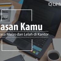 Hal ini bisa jadi penyebab kamu merasa terus merasa malas dan lelah di kantor. (Foto: Daniel Kampua, Digital Imaging: Nurman Abdul Hakim/Bintang.com)