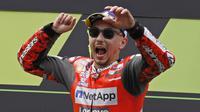 7. Jorge Lorenzo (Ducati) - 66 Poin. (AP/Eric Alonso)