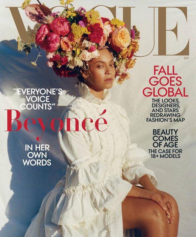 Segala tentang pengalaman hidupnya akan dikisahkan di majalan Vogue edisi September 2018/copyright Vogue
