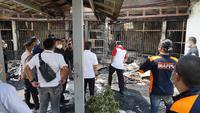 Penampakan Lapas Kelas I Tangerang usai kebakaran, Rabu (8/9/2021). (dok Kemenkumham)