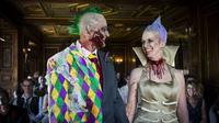 Pernikahan Unik Bertema Zombie (sumber: boredpanda)