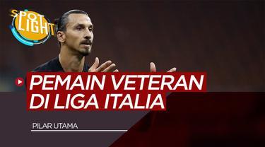 Berita video spotlight membahas tentang Pemain Veteran yang Masih Menjadi Pilar Utama Bagi Timnya di Liga Italia Ada Zlatan Ibrahimovic dan Franck Ribery