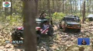 Di Benowo Park, ada medan offroad yang siap menguji adrenalin para pecinta wisata ekstrem.