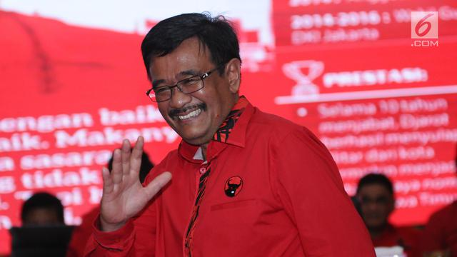 Djarot Harap Ada Pemugaran Istana Kota Pinang di Sumut Pilkada