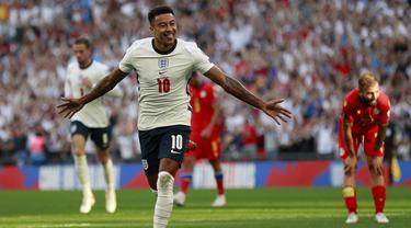 Foto: Jesse Lingard Sumbang Dua Gol, Inggris Libas Andorra dalam Laga Kualifikasi Piala Dunia 2022