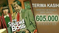 Baru dirilis pada 19 Mei 2016 lalu, film bertajuk My Stupid Boss tercatat sudah mengantungi lebih dari 605 ribu penonton.