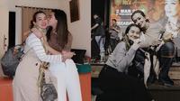Potret Hangat Aaliyah Massaid dan Reza Artamevia. (Sumber: Instagram.com/aaliyah.massaid)