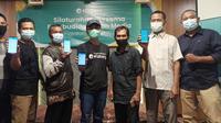 Media gathering eFishery dengan pembudidaya ikan di Yogyakarta