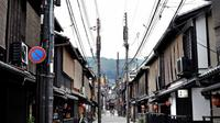 Distrik geisha di Gion, Kyoto Jepang (AFP)