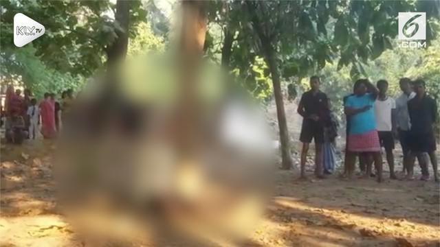 Seorang turis Australia nekat gantung diri pada sebuah hutan di India. Tak jauh dari jenazah, polisi juga temukan buku harian korban.