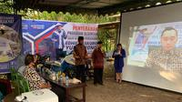 Edhie Baskoro Yudhoyono Beri Bantuan ke Petani Secara Daring. (Foto: Dokumentasi Fraksi Demokrat).