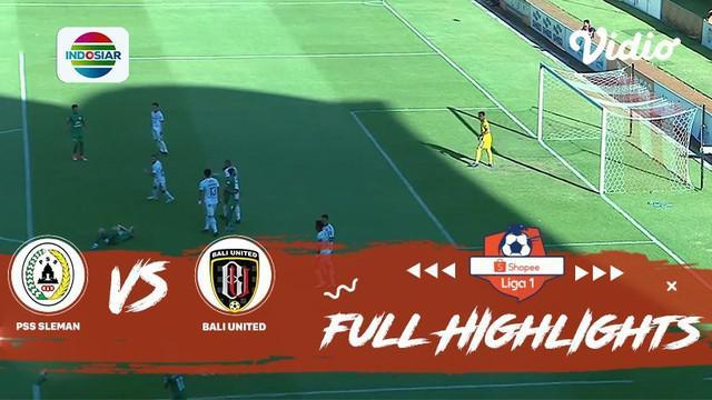 Berita video highlights Shopee Liga 1 2019 antara PSS Sleman melawan Bali United yang berakhir dengan skor 0-0, Rabu (6/11/2019).