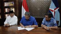 Pertemuan Prabowo Subianto dan SBY. (Dokumentasi Partai Demokrat)