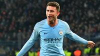 5. Aymeric Laporte (Bek Tengah) - Manchester City melabuhkan Aymeric Laporte ke Etihad Stadium dengan nilai transfer 57 juta poundsterling. (AFP/Genya Savilov)