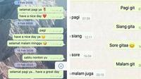 6 Chat Ucapan Selamat Pagi ke Gebetan Ini Bikin Baper (sumber: Twitter.com/20jatenra)