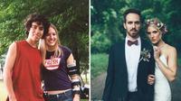 Kevin dan Blake saat di perkemahan dan saat menikah. (Sumber : Womens Health Mag).