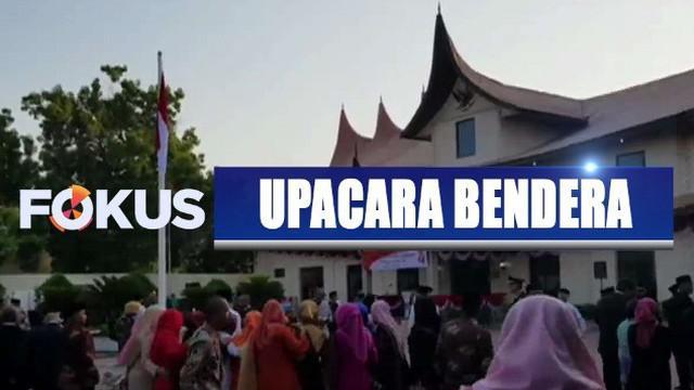 Kantor perwakilan Indonesia di Brussel, Belgia, dan Jeddah, Arab Saudi, menggelar upacara memperingati kemerdekaan.