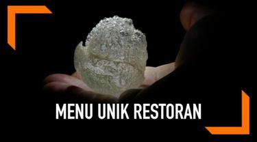 Sebuah restoran di kota Castelfranco Veneto, Italia menyajikan menu tak biasa. Ia memanjakan para tamu dengan udara goreng atau aria fritta.