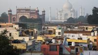 Taj Mahal di India. (AFP/Dominique Faget)