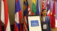 Technical Delegates SEA Games 2019 untuk cabang olahraga tenis yang berasal dari Indonesia, Susan Soebakti. (Istimewa)