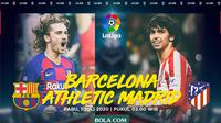 La Liga - Barcelona Vs Atletico Madrid - Head to Head Pemain (Bola.com/Adreanus Titus)