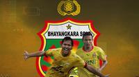 Bhayangkara FC - Adam Alis, Evan Dimas (Bola.com/Adreanus Titus)