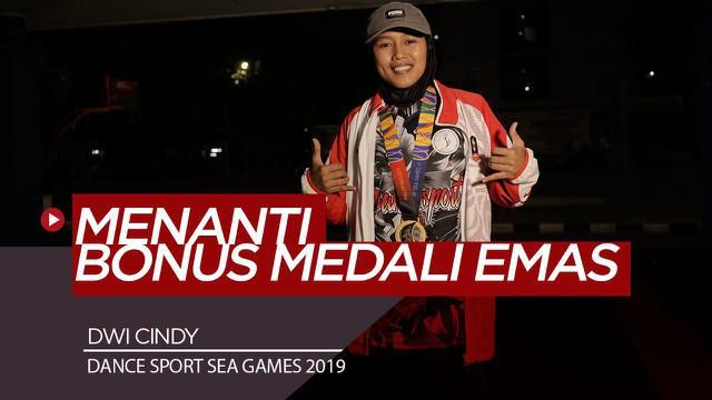 Berita Video Sedih dan kecewanya atlet Dance Sport, Dwi Cindy menunggu kepastian Bonus Sea Games 2019 dari pemerintah
