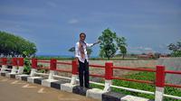 Presiden Joko Widodo saat berada di perbatasan Indonesia - Timor Leste, NTT, Sabtu (20/12/2014). (Rumgapres/Agus Suparto)
