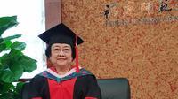 Megawati Soekarnoputri Terima Gelar Doktor Honoris Causa (FOTO: Reza Ramadhansyah)