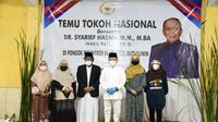 Wakil Ketua MPR Dr. H. Sjarifuddin Hasan kunjungi Pondok Pesantren Roudhotul Muta'allimin, Sukanagalih, Kabupaten Cianjur, Jawa Barat, Selasa (20/10/2020).