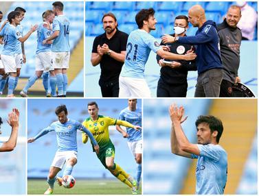 David Silva, Manchester City, Premier League