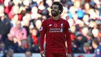 1. Mohamed Salah (Liverpool) – 16 gol dan 7 assist (AFP/Geoff Caddick)