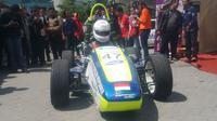SAS III merupakan proyek mobil formula yang dibuat sendiri oleh mahasiswa ITS.