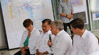 Wapres Jusuf Kalla bersama Sekjen PBB António Guterres  kunjungi Palu (Dok. BNPB)