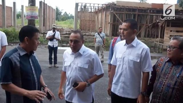 Ketiga pasang bakal calon Gubernur dan Wakil Gubernur Sumatera Utara menjalani pemeriksaan kesehatan.