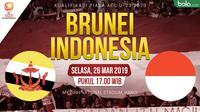 Piala AFC U-23: Brunei U-23 vs Indonesia U-23. (Bola.com/Dody Iryawan)