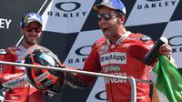 3. Danilo Petrucci (Ducati) - 108 poin. (AFP/Tiziana Fabi)