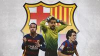 Pemain yang Salah Besar Tinggalkan Barca : Neymar, Victor Valdes, Bojan Krkic (Bola.com/Adreanus Titus)